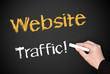 Website Traffic ! - E-Business Concept