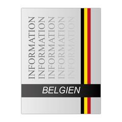 Belgien Information Mappe