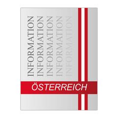 Österreich Information Mappe