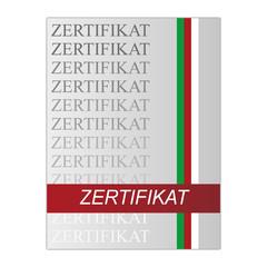 Zertifikat Information Mappe