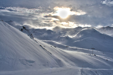 Val Thorens Snow Storm
