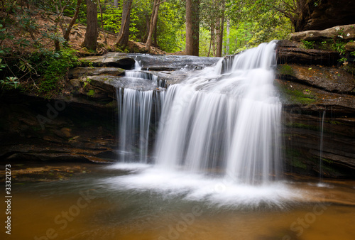 Table Rock State Park SC Waterfalls Creek Nature Landscape Water