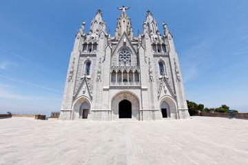 Kirche Sagrat Cor auf dem Tibidabo in Barcelona