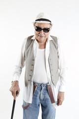 fashion elder man