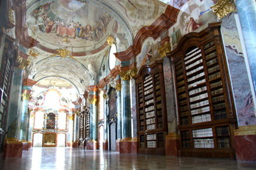Library in the cloister Altenburg