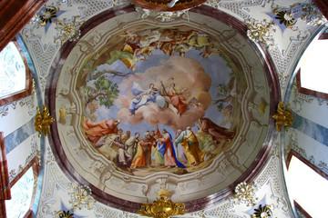 Fresco in Altenburg