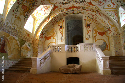 Painting tomb in Altenburg