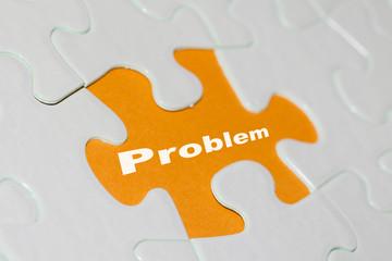 Puzzle Problem gelb