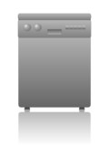 Dishwasher icon (appliance kitchen electrical household) poster