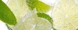 Hintergrund mit Lemmon und Zitrone - 33329218