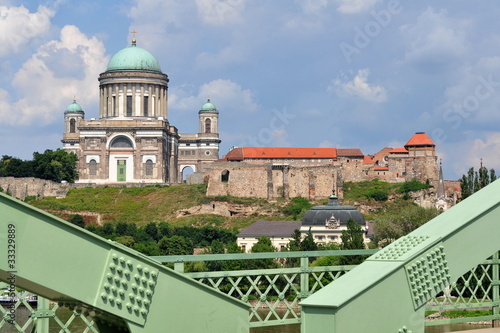 beautiful building of Basilica Esztergom,Hungary