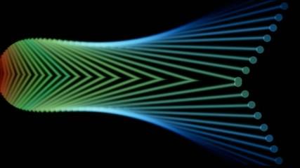 Metal fiber optic probe,steel fiber arrow,industry Machinery.