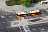 Fototapety Bus on a Street