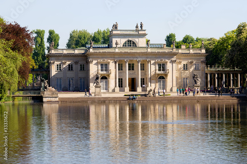 Palace on the Water in Warsaw