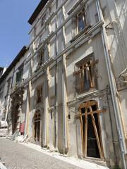 Ruin after earthquake - L'Aquila, Italy