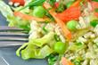 risotto z zielonym groszkiem