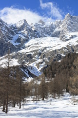 Mont Blanc mountains