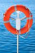 Safety orange buoy