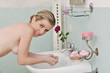 bagno lavare acqua pulizia makeup rosa