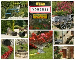 village fleuri classé