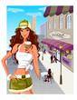 mediafire.com.  Модные дечонки и шоппинг.  Формат Ai.