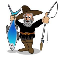 der erfolgreiche Angler