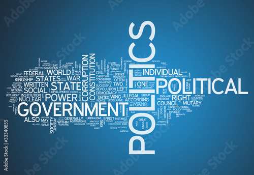 "Word Cloud ""Politics"""
