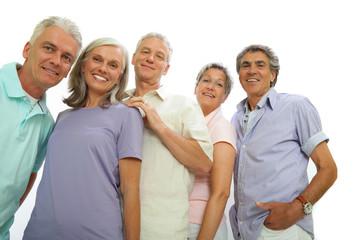 Erfolgreiche ältere Leute
