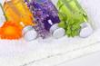 Wellness with calendula, lavender and balm