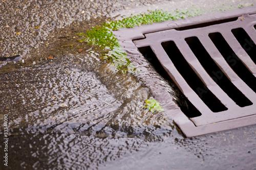 Leinwanddruck Bild Überschwemmung