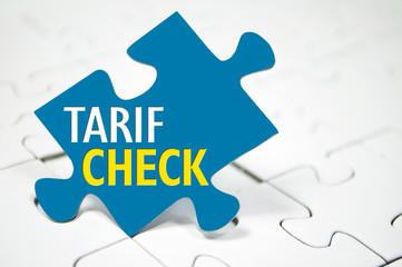 Puzzle mit Tarifcheck