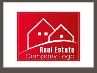 Immobilien Logo - Real Estate - Vector Template No. 6