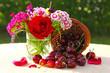 Kirschen,Blumenstrauß