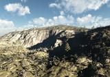 Terreno valle canyon montagna poster