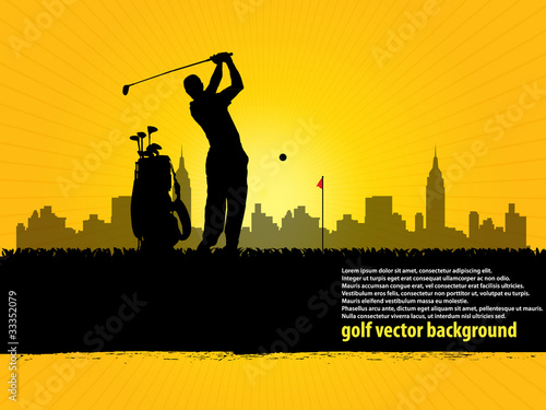 golfer background 2