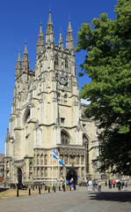 Beautiful Canterbury Cathedral in England