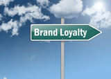 "Signpost ""Brand Loyalty"""