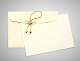 Fototapety Envelope and mail wedding invitations,