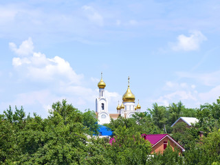 Orthodox Church in the town quarter