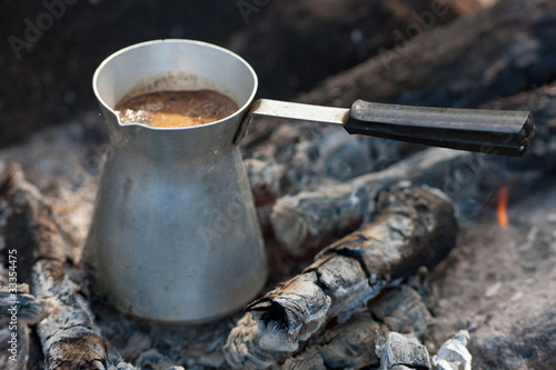 Coffee on coals