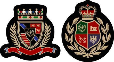 fashion royal badge set
