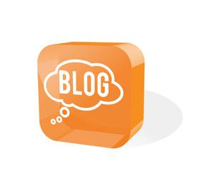 Blog Icon 3d