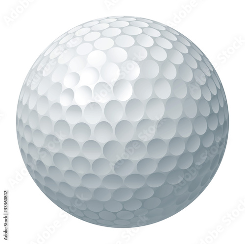 Golf ball illustration - 33360842