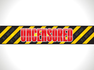 abstract shiny uncensored warning tape