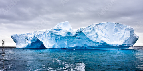 Poster Antarctica Antarctic iceberg