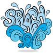 Water Splash Sound Effect Text