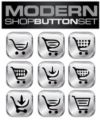 Shop Button Set Modern