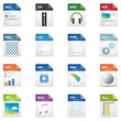 Filetyp Icons - DESIGN No. 1 -