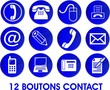 boutons contact