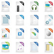 Filetyp Icons - DESIGN No. 2 -